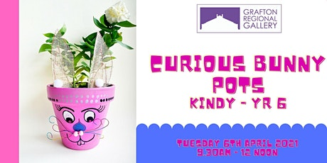 Curious Bunny Pots for Kindy - Yr 6 tickets