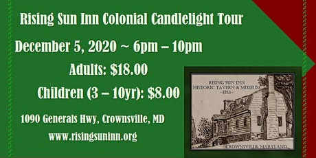 Historic Candlelight Holiday Tour tickets