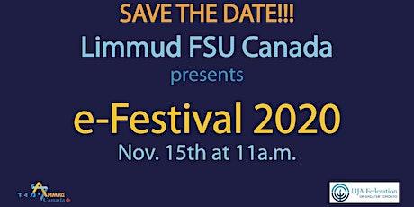 LIMMUD FSU Canada eFest tickets