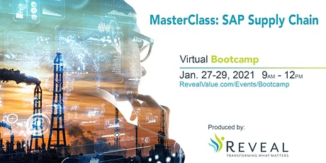 MasterClass:  SAP Supply Chain Bootcamp tickets