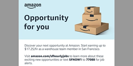 Amazon Application Event in Partnership with Goodwill San Francisco tickets