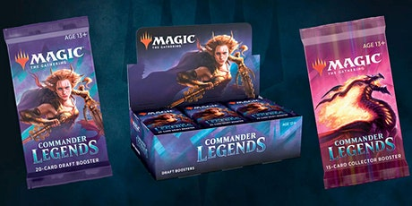 Commander Legends PreRelease tickets