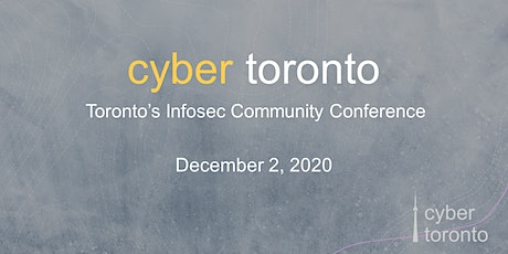 CyberToronto Conference tickets