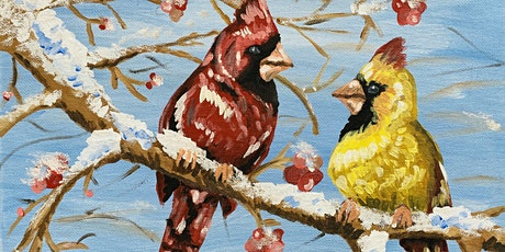 Winter Cardinal Painting 11/29 at Sapsucker Farms tickets