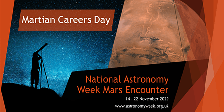 NAW2020 - Martian Careers Day - Morning session tickets