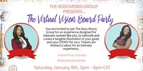 The Virtual Vision Board Party tickets
