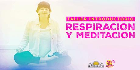 Taller introductorio de Respiración y Meditación- Jóvenes Mardel y La Plata boletos