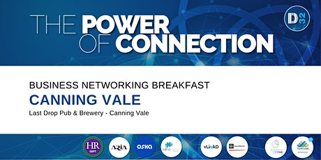 District32 Business Networking Perth – Canning Vale - Thu 12th Nov tickets