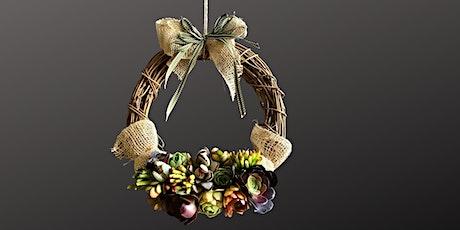 Succulent Wreath Workshop tickets