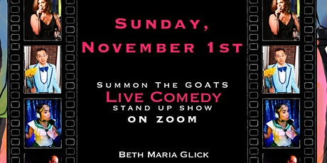 GOATS Stand Up Comedy:  On Zoom! tickets