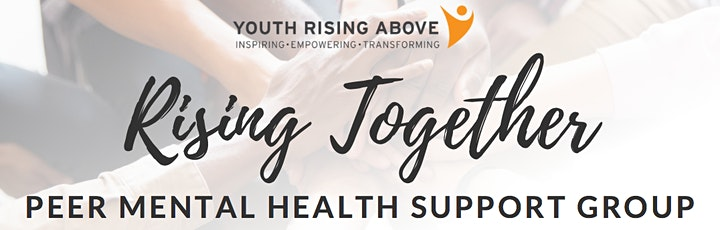 Youth Rising Above - Saturday Depression & Anxiety Peer Support Group image