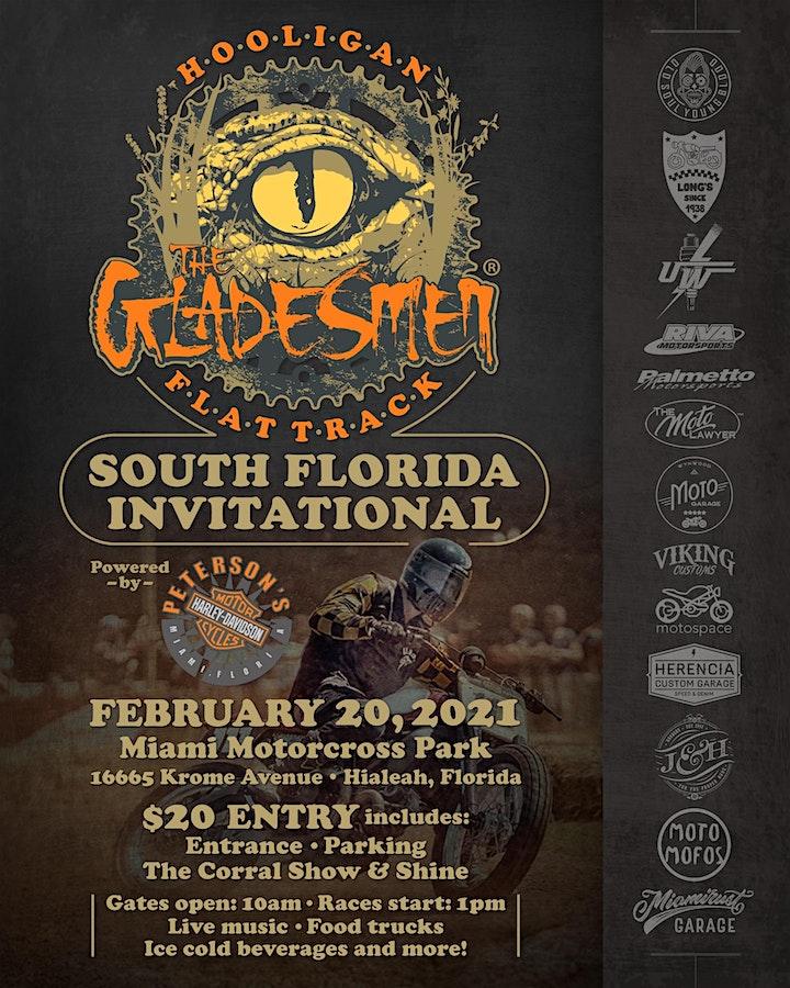 Gladesmen - Hooligan Flat Track South Florida Invitational image