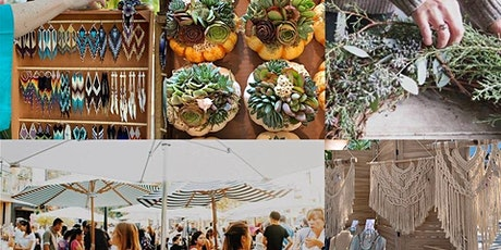 Open-Air Holiday Makers Market - Santana Row!  A Craft Festival! tickets