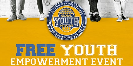 FREE ONLINE YOUTH EVENT Ages 8 - 19 tickets