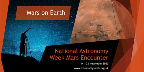 NAW2020 - Mars on Earth - Evening session and Observations tickets