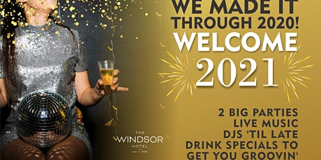 Garden Bar Disco Prohibition NYE Soirée at The Windsor Hotel tickets