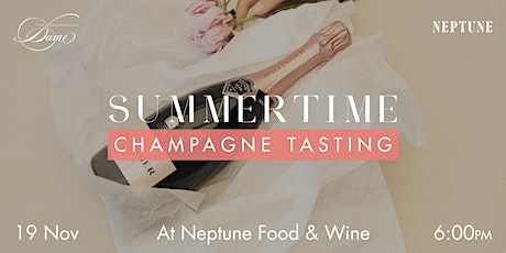 Summertime Champagne Tasting at Neptune Food and Wine tickets