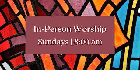 8:00 am Eucharist tickets
