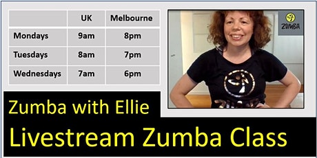 Virtual Zumba with Ellie tickets