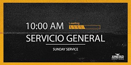 Servicio General 10:00 AM boletos