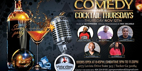 TOP SHELF COMEDY AND COCKTAIL THURSDAY tickets