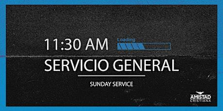 Servicio General 11:30 AM boletos
