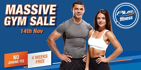Plus Fitness Brookvale Grand Opening Sale tickets