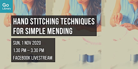 OTH Goes Green with Tampines: Hand Stitching Techniques for Simple Mending