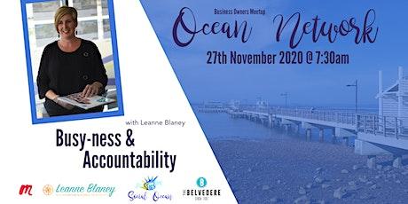 Ocean Network VIRTUAL Meetup November tickets
