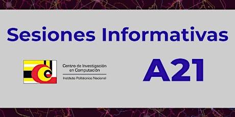 CIC-IPN: Sesión Informativa Semestre A21 boletos