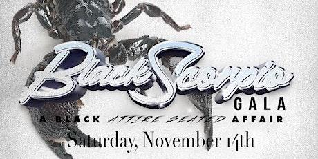 Black Scorpio Gala tickets