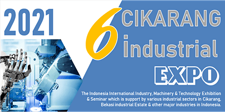 The 6th Cikarang Industrial Expo (CIE 2021) tickets