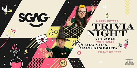 Fact or Fiction! A Trivia Night with SGAG and National Reading Movement tickets