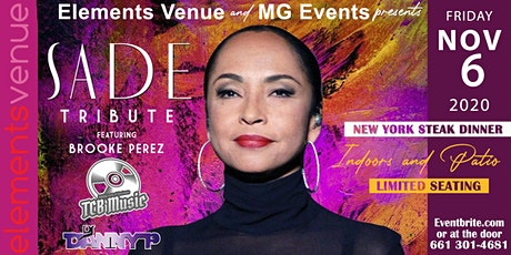 New York Steak Night f/Sade Tribute tickets