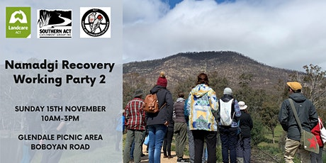Namadgi Recovery Workparty 2 tickets