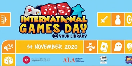 Role Playing Games, for ages 12-20; International Games Day tickets