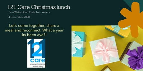 121 Care Client and Staff Christmas Lunch tickets