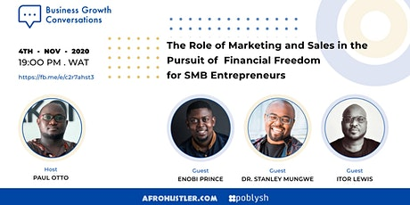 The Role of Marketing and Sales in the Pursuit of Financial Freedom for SMB tickets