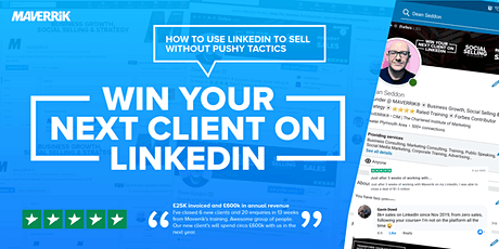 Win Your Next Client On LinkedIn - Learn the 10 Clients in 30 Days Strategy tickets