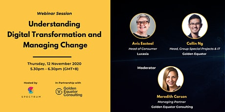 Understanding Digital Transformation and Managing Change tickets