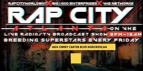 RAP CITY ATL LIVE RADIO SHOW ON VH2 tickets