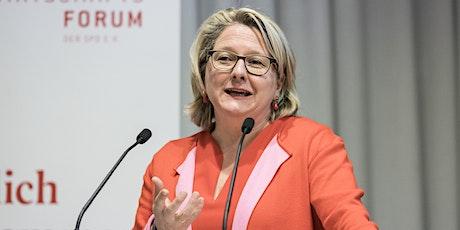 Digitalkonferenz zum Klimapaket mit Bundesministerin Svenja Schulze Tickets