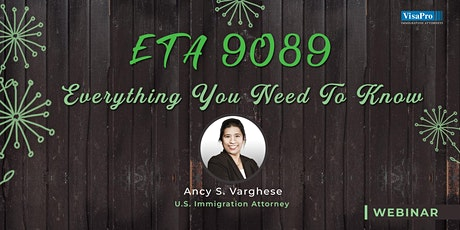 ETA 9089: Everything You Need to Know tickets