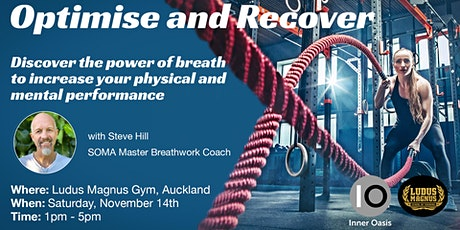 BreathMedicine Workshop - Optimise & Recover tickets