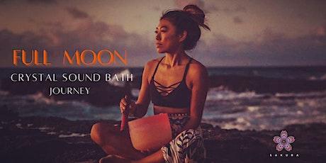 Full Moon Crystal Sound Bath Journey tickets