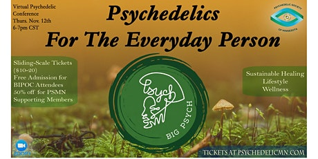 Psychedelics For The Everyday Person tickets
