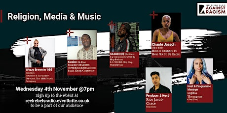 AGAINST RACISM: RELIGION, MEDIA & MUSIC tickets