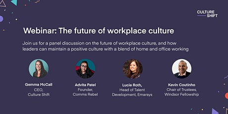 The future of workplace culture tickets