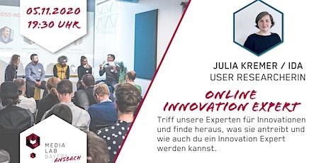 Media Lab Ansbach - Innovation Expert mit Julia Kremer tickets