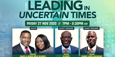 EMR3 LEADERSHIP CONFERENCE - LEADING IN UNCERTAIN TIMES tickets